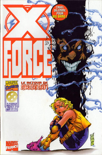 Cover for X-Force (Panini France, 1997 series) #28
