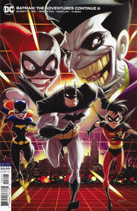 Cover Thumbnail for Batman: The Adventures Continue (DC, 2020 series) #6 [Kaare Andrews Variant Cover]