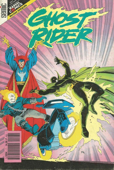 Cover for Ghost Rider (Semic S.A., 1991 series) #7