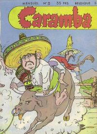 Cover Thumbnail for Caramba (SNPI (Société Nationale de Presse Illustrée), 1955 series) #3