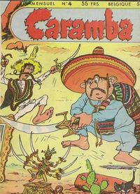 Cover Thumbnail for Caramba (SNPI (Société Nationale de Presse Illustrée), 1955 series) #4