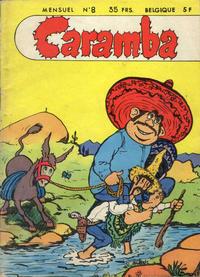 Cover Thumbnail for Caramba (SNPI (Société Nationale de Presse Illustrée), 1955 series) #8