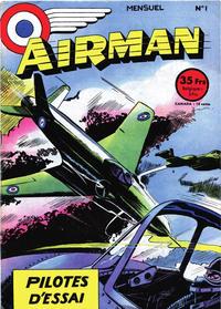 Cover Thumbnail for Airman (SNPI (Société Nationale de Presse Illustrée), 1953 series) #1