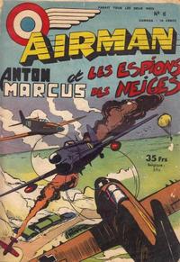 Cover Thumbnail for Airman (SNPI (Société Nationale de Presse Illustrée), 1953 series) #6