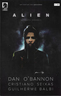 Cover Thumbnail for Alien: The Original Screenplay (Dark Horse, 2020 series) #4 [Guilherme Balbi Cover]