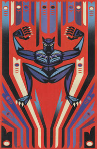 Cover Thumbnail for Avengers (Marvel, 2018 series) #38 (738) [Jeffrey Veregge 'Black Panther' Variant]