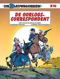 Cover Thumbnail for De Blauwbloezen (Dupuis, 1972 series) #65 - De oorlogscorrespondent