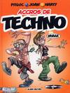 Cover for Accros de techno (Albin Michel, 2005 series)