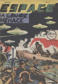 Cover Thumbnail for Espace (SNPI (Société Nationale de Presse Illustrée), 1953 series) #2