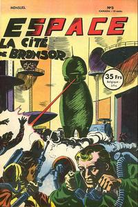 Cover Thumbnail for Espace (SNPI (Société Nationale de Presse Illustrée), 1953 series) #3