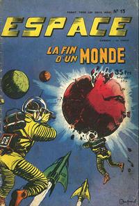 Cover Thumbnail for Espace (SNPI (Société Nationale de Presse Illustrée), 1953 series) #13
