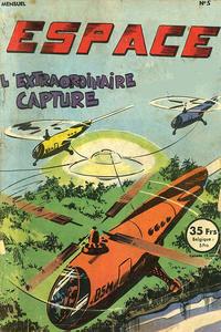 Cover Thumbnail for Espace (SNPI (Société Nationale de Presse Illustrée), 1953 series) #5