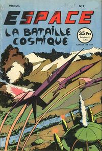 Cover Thumbnail for Espace (SNPI (Société Nationale de Presse Illustrée), 1953 series) #7