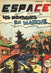 Cover Thumbnail for Espace (SNPI (Société Nationale de Presse Illustrée), 1953 series) #10