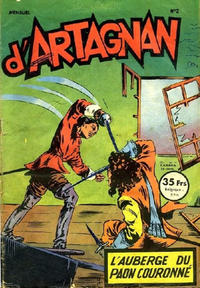 Cover Thumbnail for Les aventures du chevalier D'Artagnan (SNPI (Société Nationale de Presse Illustrée), 1953 series) #2