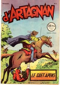 Cover Thumbnail for Les aventures du chevalier D'Artagnan (SNPI (Société Nationale de Presse Illustrée), 1953 series) #3