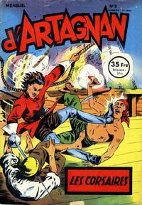 Cover for Les aventures du chevalier D'Artagnan (SNPI (Société Nationale de Presse Illustrée), 1953 series) #5