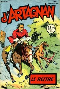 Cover Thumbnail for Les aventures du chevalier D'Artagnan (SNPI (Société Nationale de Presse Illustrée), 1953 series) #6