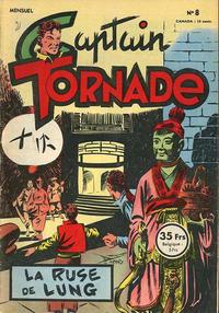 Cover Thumbnail for Captain Tornade (SNPI (Société Nationale de Presse Illustrée), 1953 series) #8
