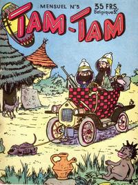 Cover Thumbnail for Tam-Tam (SNPI (Société Nationale de Presse Illustrée), 1955 series) #3