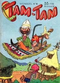 Cover for Tam-Tam (SNPI (Société Nationale de Presse Illustrée), 1955 series) #4