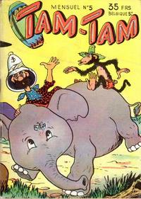 Cover Thumbnail for Tam-Tam (SNPI (Société Nationale de Presse Illustrée), 1955 series) #5