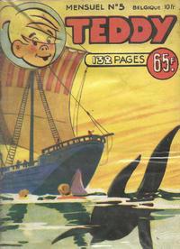 Cover Thumbnail for Teddy (SNPI (Société Nationale de Presse Illustrée), 1955 series) #5