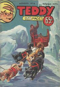 Cover Thumbnail for Teddy (SNPI (Société Nationale de Presse Illustrée), 1955 series) #6