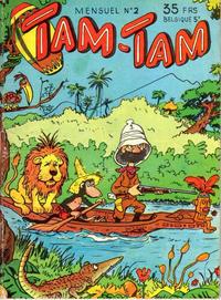 Cover for Tam-Tam (SNPI (Société Nationale de Presse Illustrée), 1955 series) #2