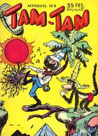 Cover Thumbnail for Tam-Tam (SNPI (Société Nationale de Presse Illustrée), 1955 series) #6