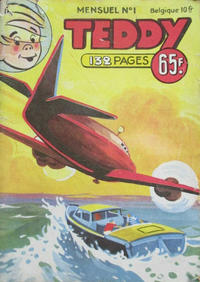 Cover Thumbnail for Teddy (SNPI (Société Nationale de Presse Illustrée), 1955 series) #1