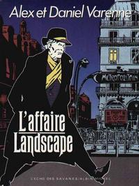 Cover Thumbnail for L'affaire Landscape (Albin Michel, 1985 series)