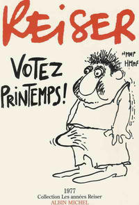 Cover Thumbnail for Les années Reiser (Albin Michel, 1994 series) #4 - Votez printemps!