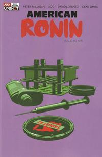 Cover Thumbnail for American Ronin (AWA Studios [Artists Writers & Artisans], 2020 series) #2