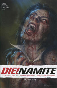 Cover for Die!namite (Dynamite Entertainment, 2020 series) #2