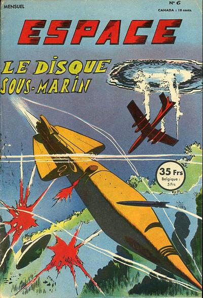 Cover for Espace (SNPI (Société Nationale de Presse Illustrée), 1953 series) #6