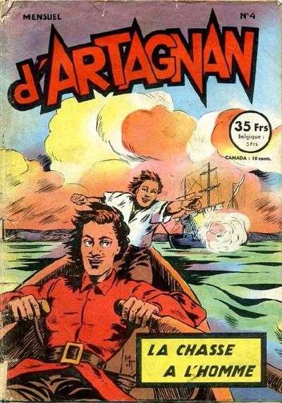 Cover for Les aventures du chevalier D'Artagnan (SNPI (Société Nationale de Presse Illustrée), 1953 series) #4