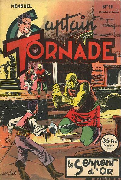 Cover for Captain Tornade (SNPI (Société Nationale de Presse Illustrée), 1953 series) #11