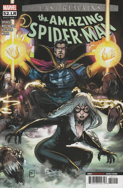 Cover for Amazing Spider-Man (Marvel, 2018 series) #52.LR