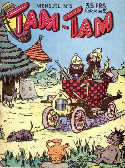 Cover for Tam-Tam (SNPI (Société Nationale de Presse Illustrée), 1955 series) #3