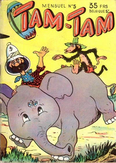 Cover for Tam-Tam (SNPI (Société Nationale de Presse Illustrée), 1955 series) #5
