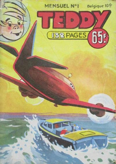 Cover for Teddy (SNPI (Société Nationale de Presse Illustrée), 1955 series) #1