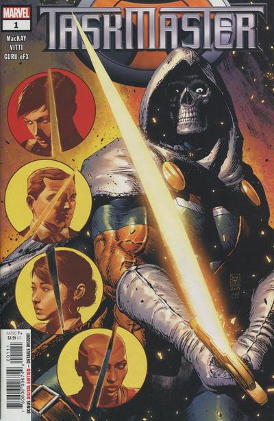 Cover for Taskmaster (Marvel, 2021 series) #1