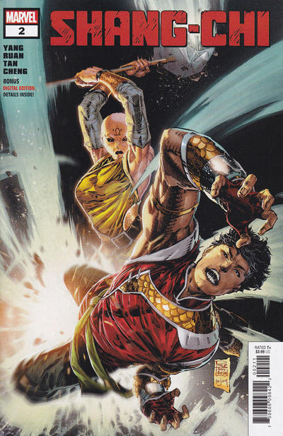Cover for Shang-Chi (Marvel, 2020 series) #2