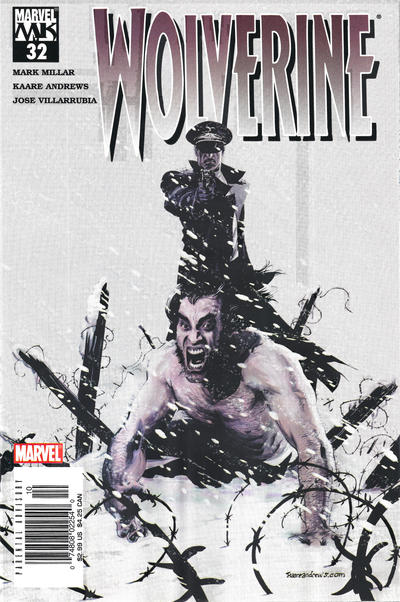 Cover for Wolverine (Marvel, 2003 series) #32 [Direct Edition]