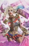 Cover Thumbnail for Harley Quinn 25th Anniversary Special (2017 series) #1 [Unknown Comics Greg Horn Pink Virgin Cover]