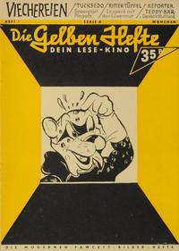 Cover Thumbnail for Die gelben Hefte (Friebe Verlag, 1954 series) #Heft 1 Serie A