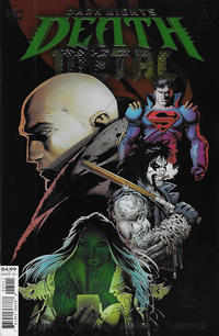 Cover Thumbnail for Dark Nights: Death Metal (DC, 2020 series) #5 [Greg Capullo & Jonathan Glapion Foil Cover]