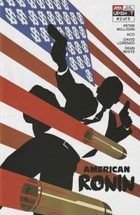 Cover Thumbnail for American Ronin (AWA Studios [Artists Writers & Artisans], 2020 series) #2 [Rahzzah Cover]