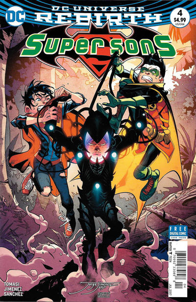 Cover for Super Sons (DC, 2017 series) #4 [Newsstand]